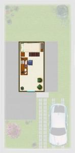 Casa tipo A(M), Mansarda 8,08 m2