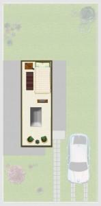 Casa tipo B(M), Mansarda 6,64 m2