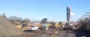 Instalación faenas y despeje de terreno